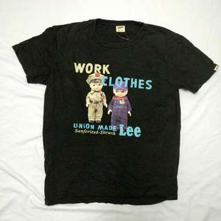 Tshirt Lee work clothes Union Made