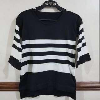 Korean 3/4 Knitted Sweater