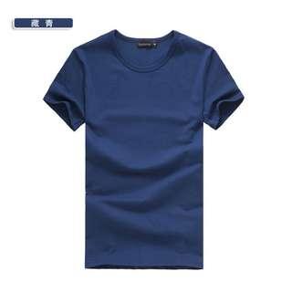 【樂購好物】素T恤 韓版 百搭基本款 男女精梳棉  V領 多種尺碼 顏色 團購 日韓 潮流