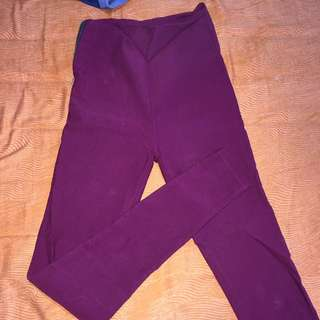 celana 100% cotton highwaist