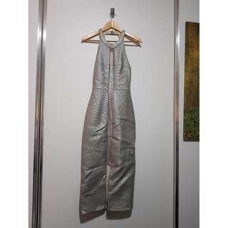 Manning Cartell - Women's Sun Moon Stars Metallic Midi Dress