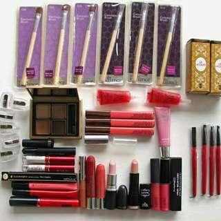 Bulk Makeup - Gloss, Lipstick, Brushes, MAC, Smashbox...