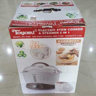 Toyomi Stew Cooker And Steamer