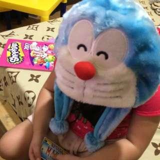 Doraemon Head Accessory/hat