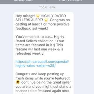 Thank You Again Carousell! 💕