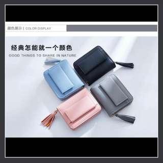 Black Short Wallet