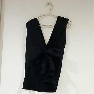 Top Tie Black