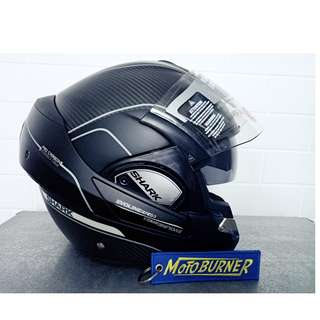 Shark Evoline Pro Carbon Modular helmet