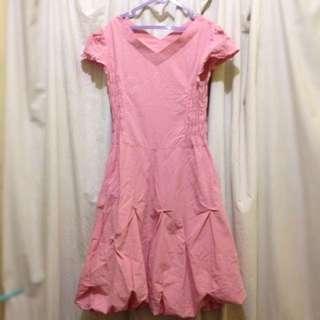 Balloon Pink Dress