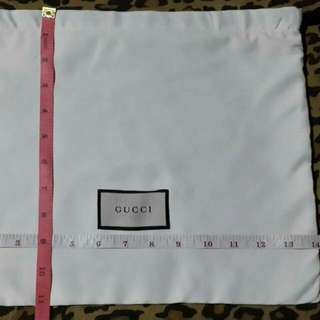 Dust Bag Small- Gucci Authentic