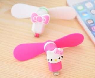 [PO] Hello Kitty Mini Portable Fan