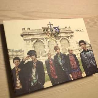 TEEN TOP 韓國進口版專輯 No.1 (Miss Right.I Wanna Love...)