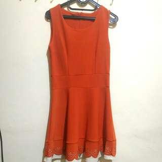 Dress Korea Orange