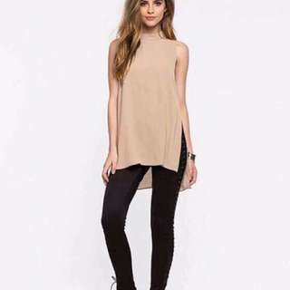 Long Tops Beige