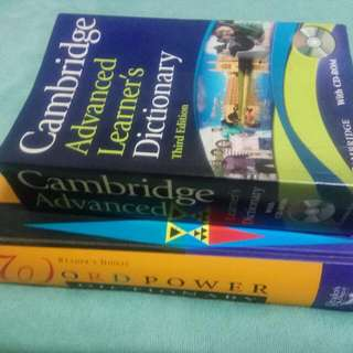 Dictionary - Cambridge Advanced Learner & Reader's Digest Words Power