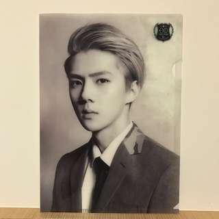 EXO 吳世勳 官方資料夾