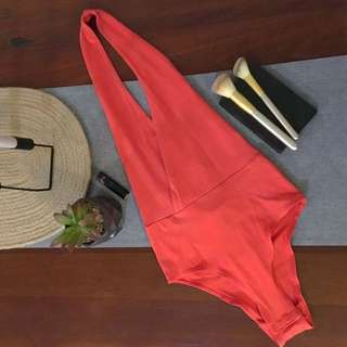 Bardot (size 8) Orange One Piece