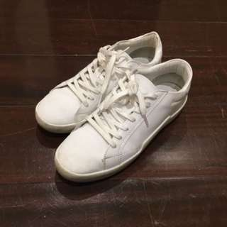 Zara White Rubber Shoes