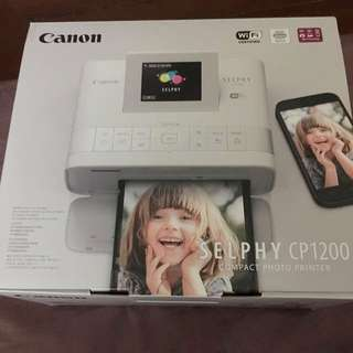 Canon Compact Photo Printer- Selphy CP1200