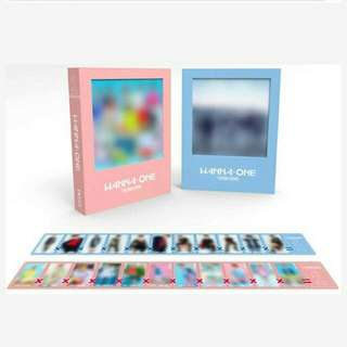 WANNA ONE DEBUT ALBUM