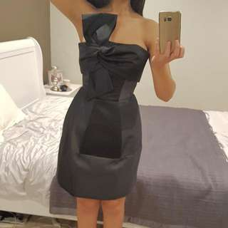 BNWT Cue Black Dress