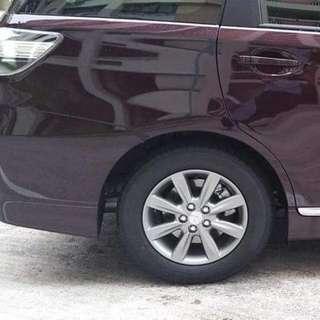 New Toyota Wish Stock Wheels & Tyres