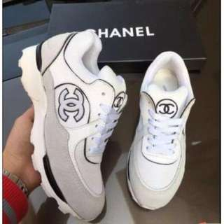Chanel 100% Women's Leather Sneakers