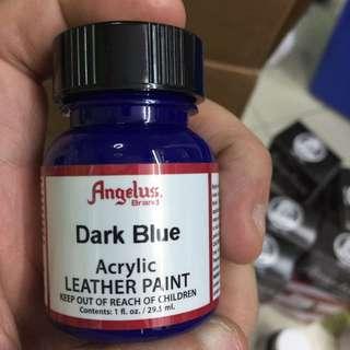 Dark Blue Angelus Acrylic Leather Paint