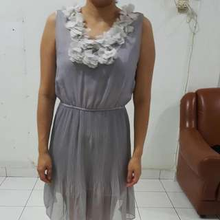 Dress Terusan  Motif Bunga