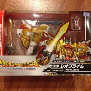 Transformers Leo Prime Takara LG-41 MISB