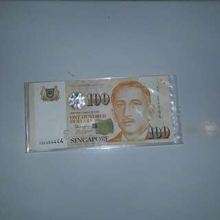 Wts 100 Old Note