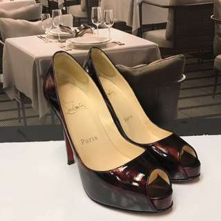 Christian Louboutin Patent Leather High Heel
