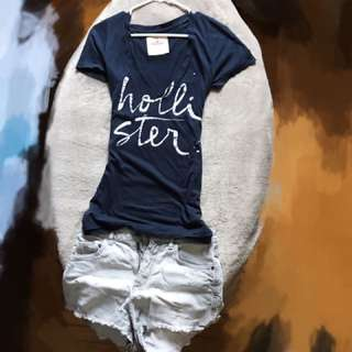 Cute Hollister Vneck T-Shirt