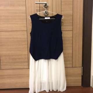 No Brand Blue Dress