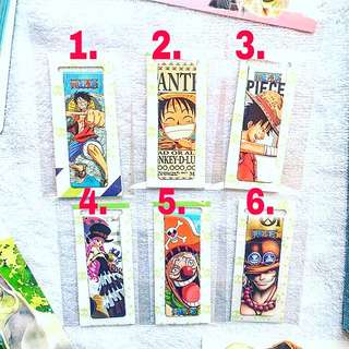 One piece Magnetic Bookmark