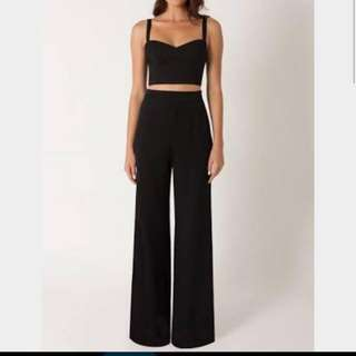 LF: Terno Black Top And Pants
