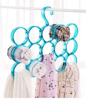 衣架 頸巾 絲巾 領帶架 hanger