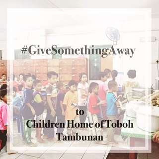 Give Something Away - Charity Drive