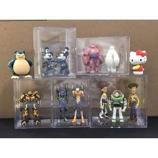 收藏盒 盒 玩具盒 玩具 tomica 模型 tomy metacolle 合金 卡通 禮物 保存 收納盒