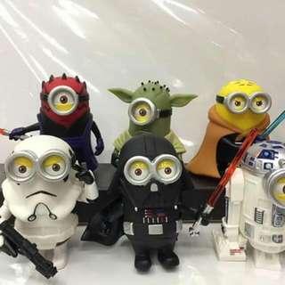 Minions Starwars