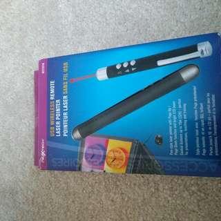 USB Remote Wireless Laser Pointer