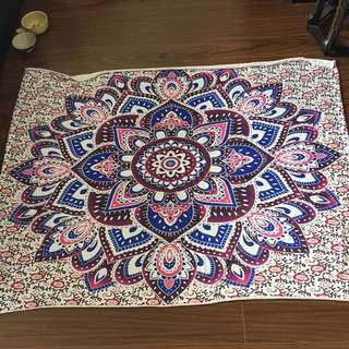 Mandala Tapestry Or Cover Or Blanket