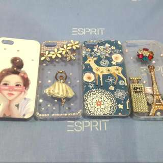 Casing Iphone 5 Glitter