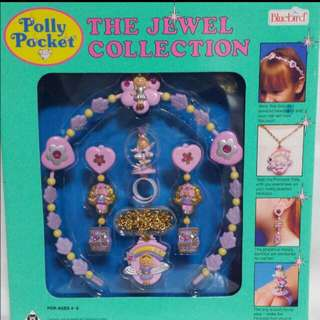 Vintage Polly Pocket The Jewel Collection 1992 - Brand New