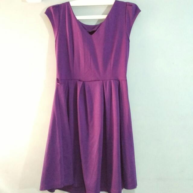2 Items ( Purple Dress & Party Dress)