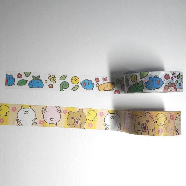 咖波/兔丸 紙膠帶分裝100cm