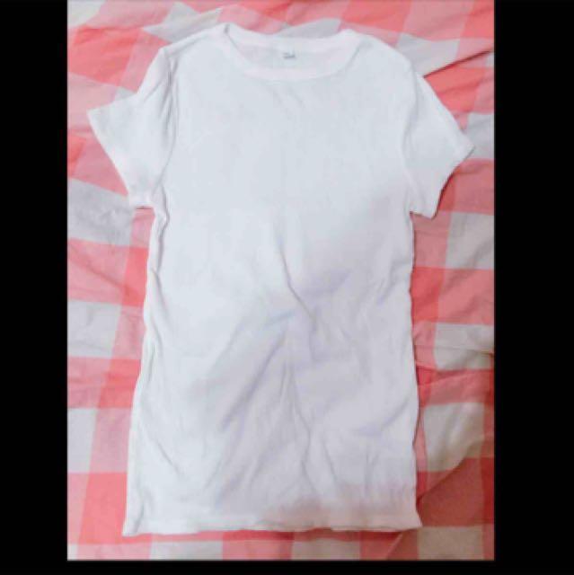 全新白色上衣