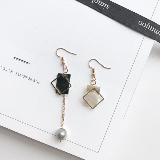 韓國簡約時尚耳環