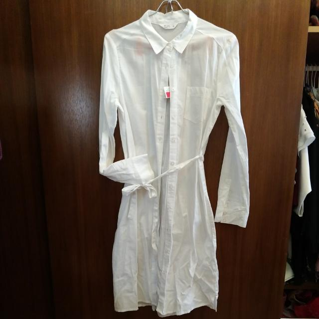 全新 Net 白色薄長衣