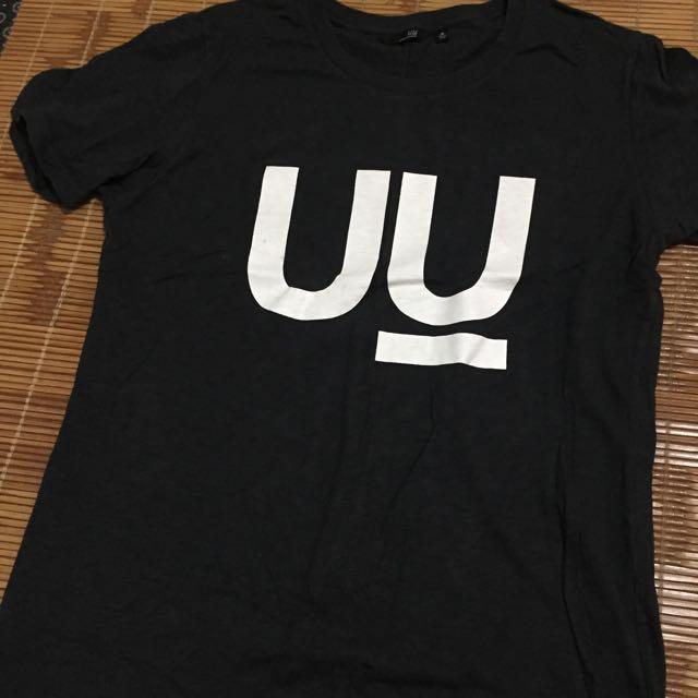 絕版品 undercover uniqlo 聯名 雙u 灰色 m號